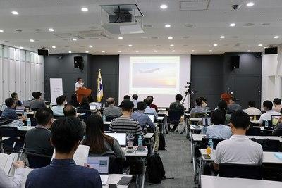 한국위키미디어협회가 2018년 10월 연 '위키 컨퍼런스 서울'. 한국어 위키백과 편집과 관련한 여러 토론과 행사가 진행됐다. 한국위키미디어협회 제공